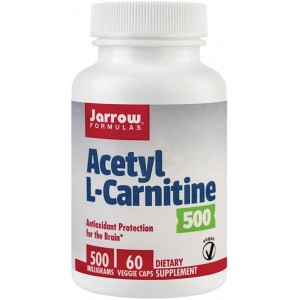 Acetyl L-Carnitine 500mg 60cps Jarrow Secom