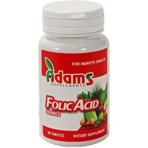 Acid Folic 400µg 30cpr Adams Vison