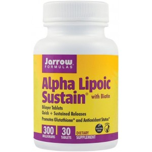 Alpha Lipoic Sustain 300Mg 30Tb Jarrow Secom
