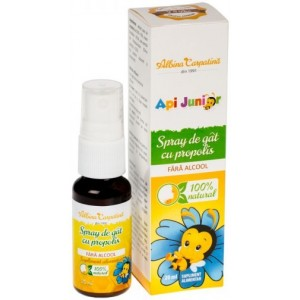 Api Junior Spray Gat Propolis F. Alcool 20ml Albina Carpatina