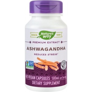 Ashwagandha SE 500mg 60cps Nature's Way Secom