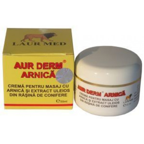 Aur Derm Crema Arnica 50ml LaurMed
