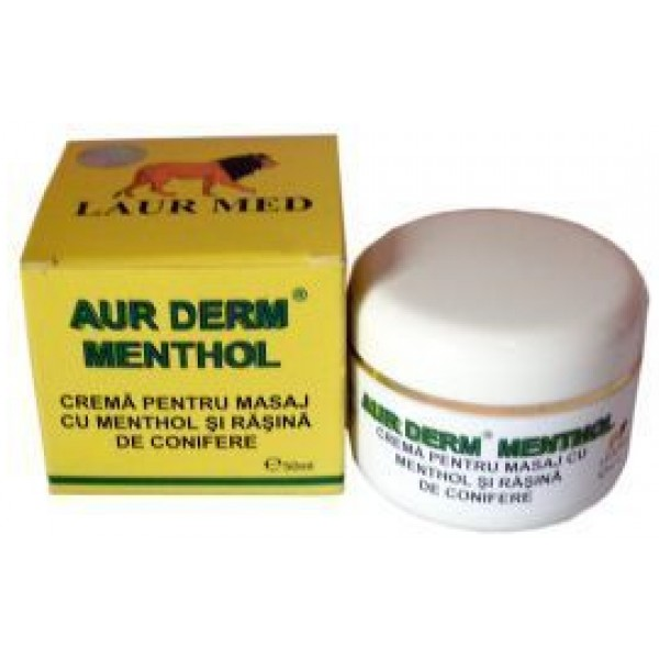 Aur Derm Crema Menthol 50ml LaurMed