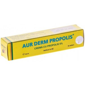 Aur Derm Crema Propolis 5% 30ml Laurmed