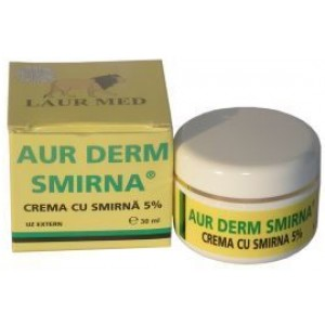 Aur Derm Crema Smirna 5% 30ml Laurmed