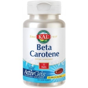 Beta Carotene 25000ui 50cps Secom