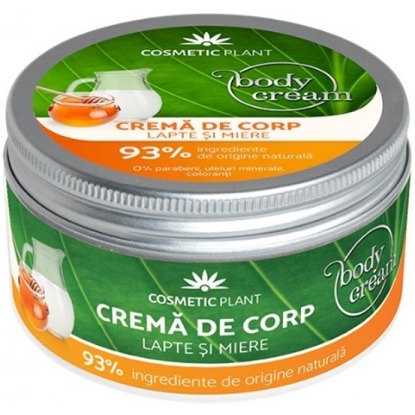 Body Crema Corp Lapte & Miere Cosmetic Plant