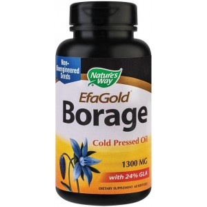 Borage 1300mg 60cps Nature's Way Secom