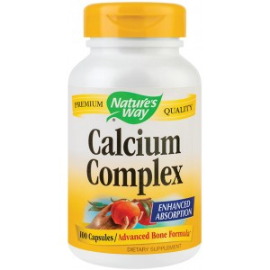 Calcium Complex Bone Formula 100Cps Nature's Way Secom