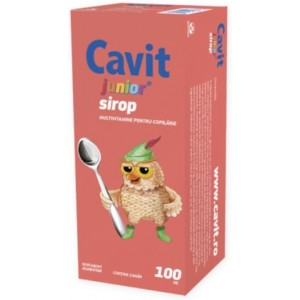 Cavit Junior Sirop 100ml Biofarm