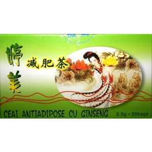 Ceai Antiadipos + Ginseng 30Dz L&L Advancemed