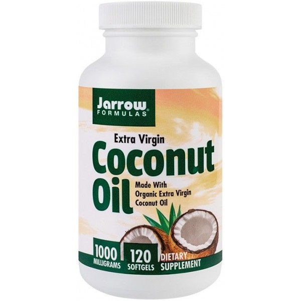 Coconut oil extra virgin 1000mg 120cps Jarrow Secom