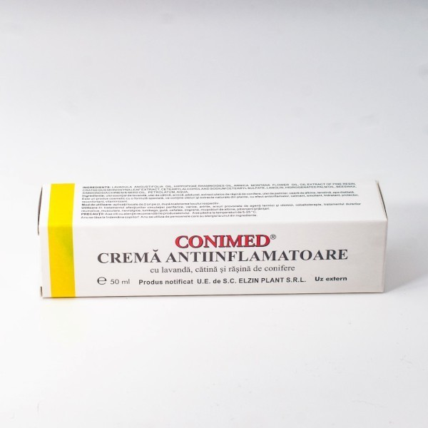 Crema Antiinflamatoare - Conimed 50ml Elzin Plant