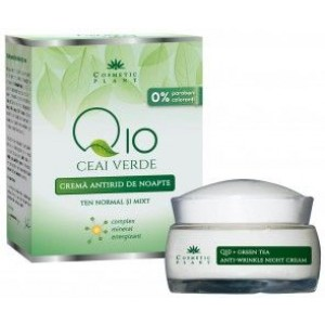 Crema Antirid Noapte Q10 Mineral Complex 50ml Cosmetic Plant