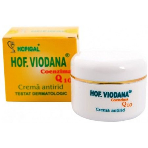 Crema Antirid Viodana cu Q10 50Ml Hofigal