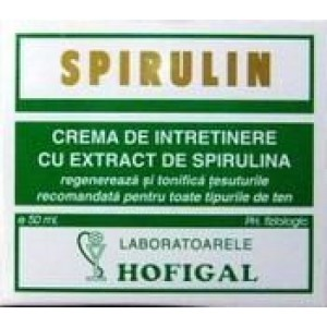Crema Spirulin (30*2Ml) Monodz Hofigal