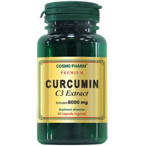 Curcumin C3 Extract 400mg echiv. 8000mg 60CPS