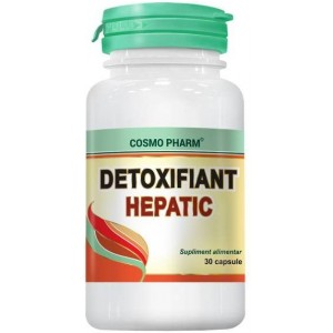 Detoxifiant Hepatic 30CPS