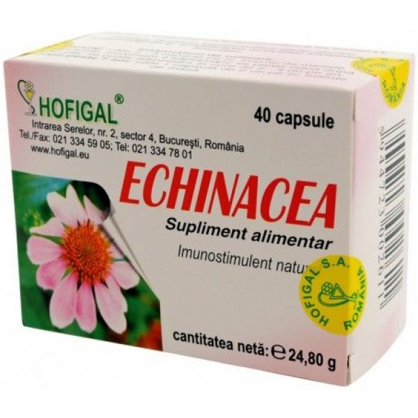 Echinaceea Extract Concentrat 40Cps Hofigal