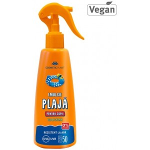Emulsie Plaja Spray Kids Spf 50 200ml Cosmetic Plant