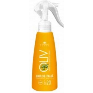 Emulsie Plaja Spray Oliv Spf 20 200ml Cosmetic Plant