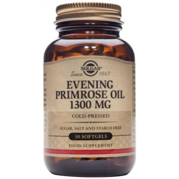 Evening Primrose Oil 1300mg 30cps SOLGAR