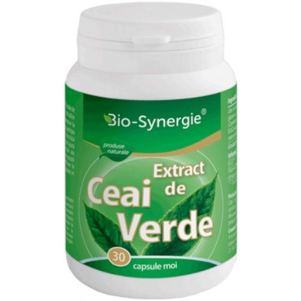 Extract Ceai Verde 30cps Bio Synergie