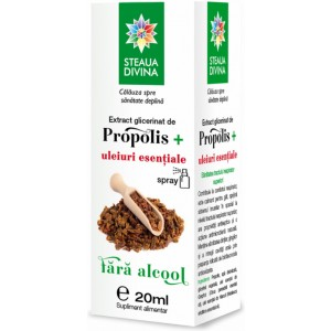 Extract glicerinat de propolis 20ml Steaua Divina