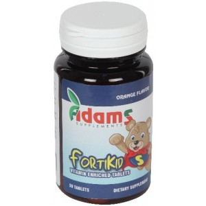 Fortikid 30cpr Masticabile Adams Vision