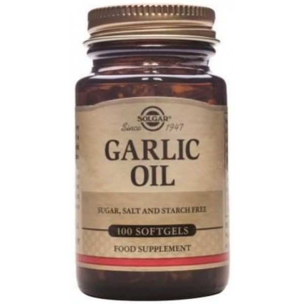 Garlic Oil 100cps SOLGAR