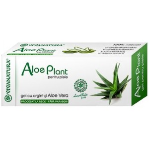 Gel Aloe Vera & Argint Coloidal 20Ml Viva Natura