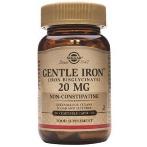 Gentle Iron 20mg 90cps SOLGAR