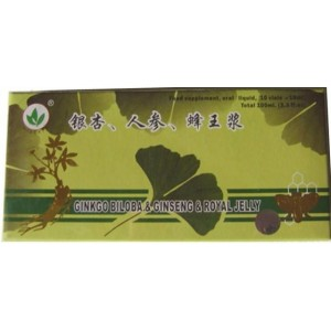 Ginkgo Biloba + Royal Jelly + Ginseng 10Fiole Naturalia Diet