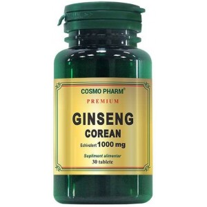 Ginseng Corean 1000mg 30CPR