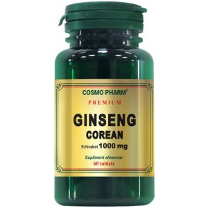 Ginseng Corean 1000mg 60CPR