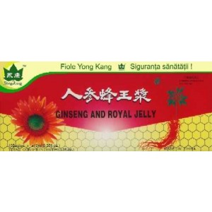 Ginseng+ Royal Jelly 10 Fiole Yong Kang Co & Co Consumer