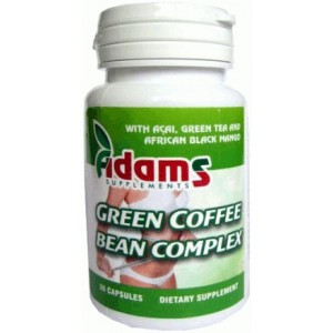 Green Coffee Complex 350mg 30cps Adams Vision