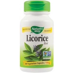 Licorice (lemn dulce) 450mg 100cps Nature's Way Secom