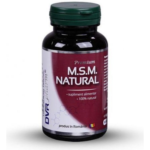 M.S.M natural 90cps DVR Pharm