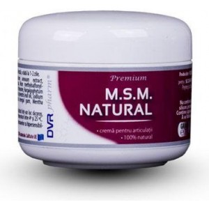 M.S.M natural crema 75ml DVR Pharm
