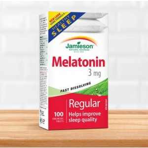 MELATONINA 3MG 100CPR Jamieson