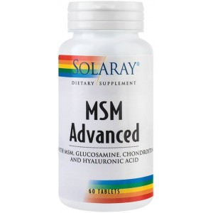 MSM 750Mg 90Cps Solaray Secom