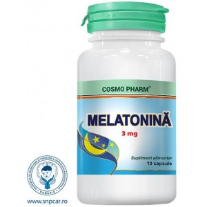 Melatonina 3 mg 10CPS