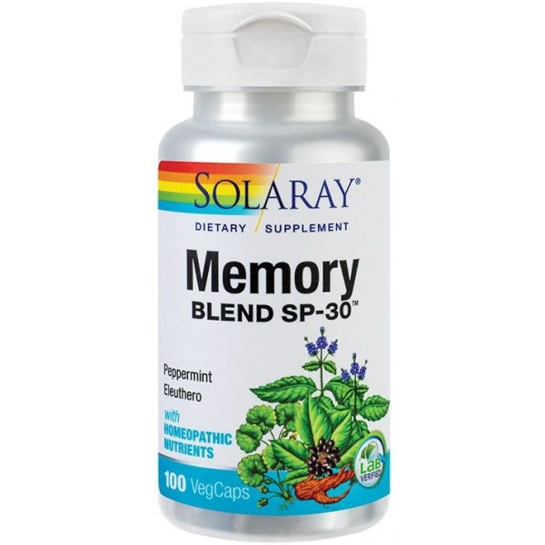 Memory Blend 100Cps Solaray Secom