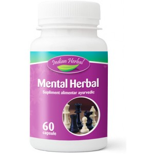 Mental herbal 60cps Indian Herbal
