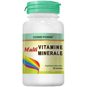 Multivitamine si Multiminerale 30CPS