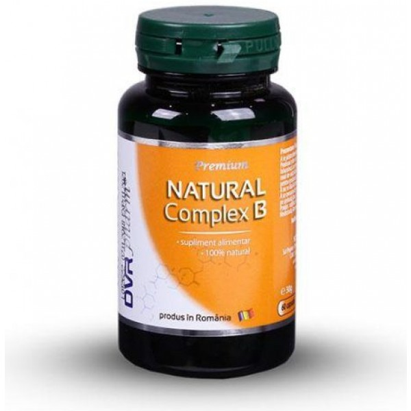 Natural Complex B 60cps DVR Pharm
