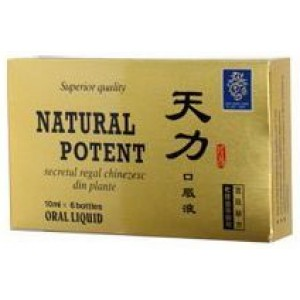 Natural Potent 6Fiole Naturalia Diet