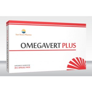 Omegavert Plus 30 capsule Sun Wave Pharma