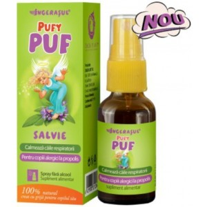 Pufy Puf Salvie fara Alcool Spray 20ml Dacia Plant